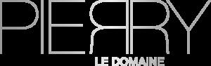 logo PIERRY le domaine / argent